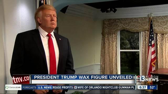 Madame Tussuads reveals wax Donald Trump