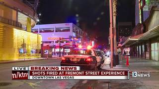 Shots fired on Fremont Street in downtown Vegas