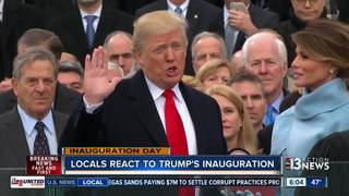 Las Vegas reacts to inauguration of Donald Trump
