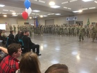 Nevada soldiers welcomed home in ceremony