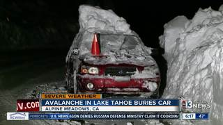 Avalanche closes highway near Lake Tahoe