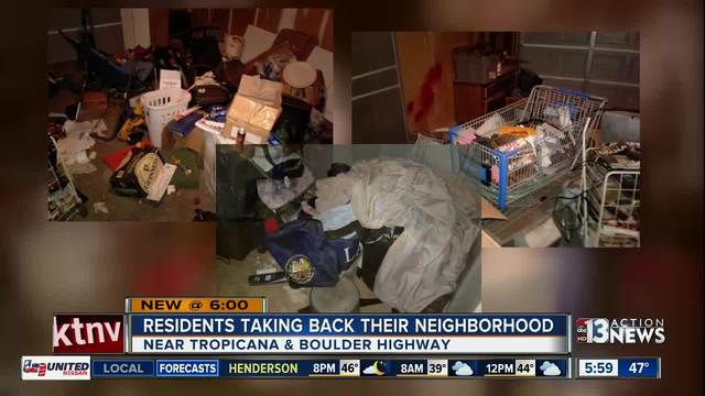 SQUATTERS: Neighborhood HOA fighting back