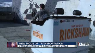 Pedicabs no longer banned in downtown Las Vegas