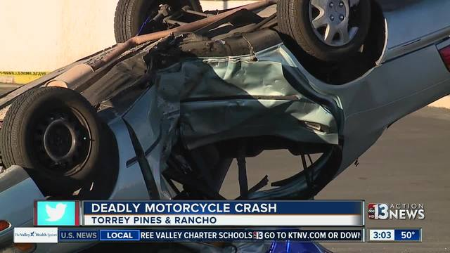 UPDATE: Victim identified in deadly motorcycle crash