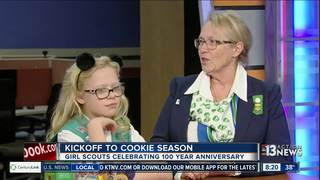 Girl Scouts kick off cookie sales