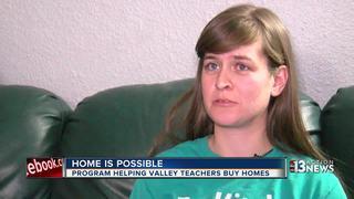 New program helping teachers buy homes