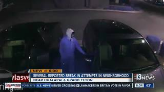 CAUGHT ON CAMERA: Attempted car break-ins in NW
