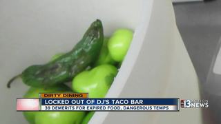 DIRTY DINING: Expired food at DJ's Taco Bar
