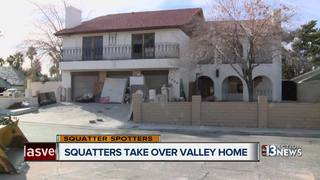 SQUATTERS: Historic home taken over by squatters