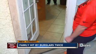 Woman burglarized twice at different homes