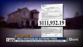 CONTACT 13: Extreme HOA fines prevent home sale