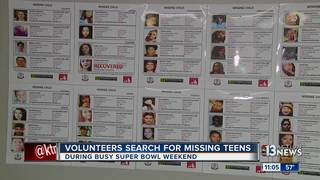 Massive search for missing kids in Las Vegas