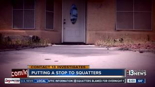 CONTACT 13: Taking on squatters