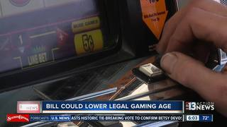 Bill introduced to lower NV gambling age to 18