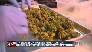 Henderson passes 6-month moratorium on pot sales