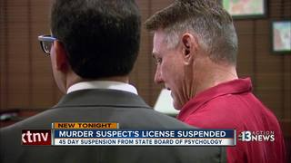 Psychologist Gregory Dennis' license suspended