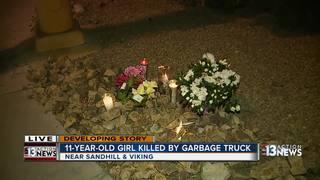 UPDATE: Child hit by garbage truck identified