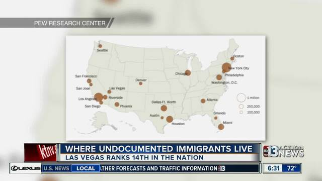 Where Do Undocumented Immigrants Live?