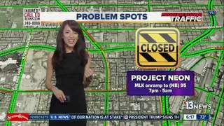 TRAFFIC TROUBLES: MLK on-ramp closure tonight