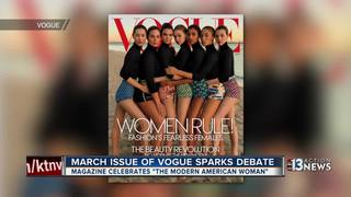 Vogue cover coming under fire for its diversity