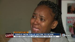 CONTACT 13: Single mom falls victim to scam