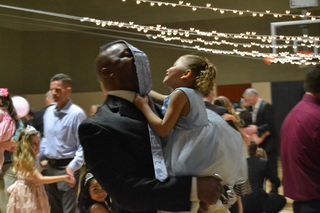 Daddy Daughter Dance at Life Time Athletic