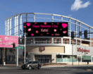 Free billboard space for Valentine's Day