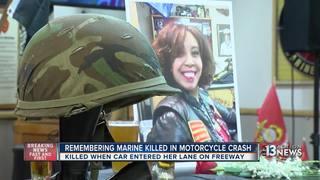 Bikers mourn marine killed in motorcycle crash