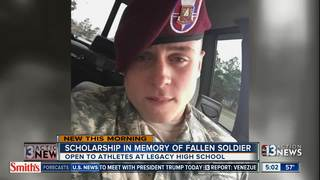 Fallen soldier honored through scholarship