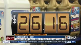 CONTACT 13: Shocking prices at Primm gas station