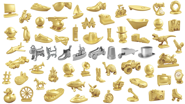 Monopoly is ditching the thimble, a token of the past