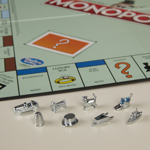 The thimble gets the thumb in Monopoly