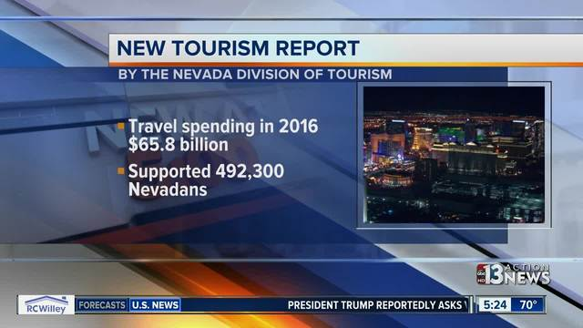 Tourism report shows increase in travel spending