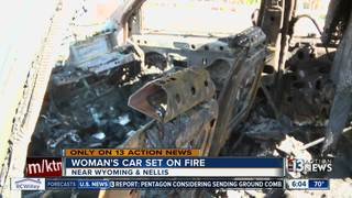 Car fire might be work of serial arsonist
