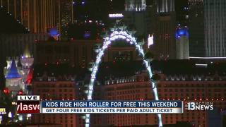 NV kids can ride High Roller for free Feb. 17-19