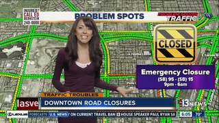 Emergency Spaghetti Bowl ramp closure
