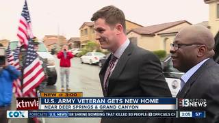 Army veteran received mortgage-free home