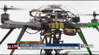 Strange drones creeping out homeowners