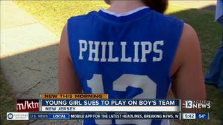 Judge says girl can play on boy's team