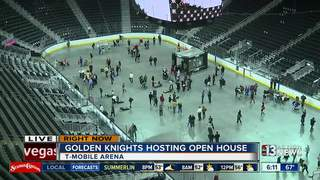 Golden Knights open house on Feb. 21
