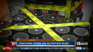 CONTACT 13: More quarantined at Nutrition Rush