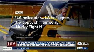 Video of Harrison Ford's close call at airport