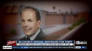 Ex-church official gets 4 years for theft