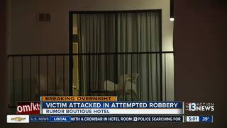 Crowbar attack at Rumor Hotel near Vegas Strip
