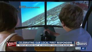 Rescue Heroes Day at Discovery Children's Museum