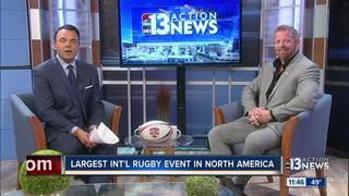 International rugby tournament coming to Vegas