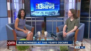 Josh Bell talks about this year's Oscars