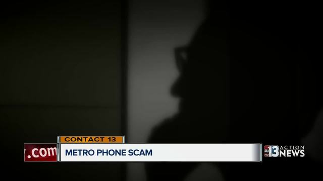 CONTACT 13: Man target of police phone scam