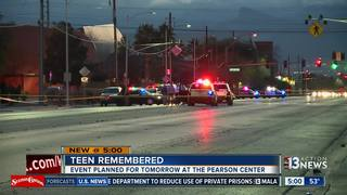 UPDATE: Walk to remember teen killed Sunday