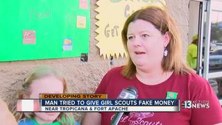 Man attempts to cheat local Girl Scout troop